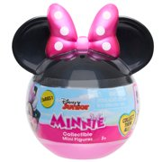 Minnie Mouse Collectible Mini Figure in Capsule, Styles May Vary, Party Favors and Gifts for Kids, Preschool Ages 3 up by Just Play
