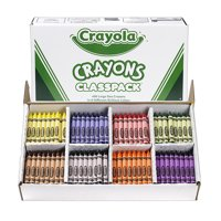 Crayola Crayon Classpack, Large Size, Pack Of 400
