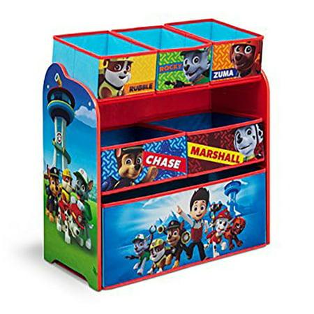 Nick Jr. PAW Patrol Multi-Bin Toy Organizer by Delta Children ()