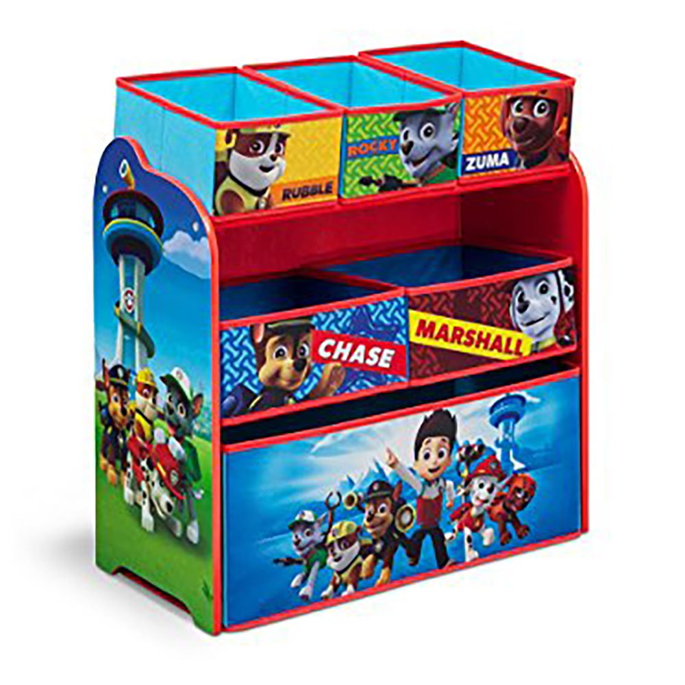 Nick Jr. PAW Patrol Multi Bin Toy Organizer By Delta Children