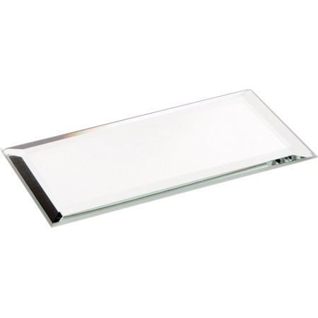 Fused Glass Mirror - Beveled Glass Mirror, Rectangular 3mm - 2