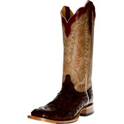 Cinch Western Boots Mens Full Quill Ostrich Leather Kango CFM555