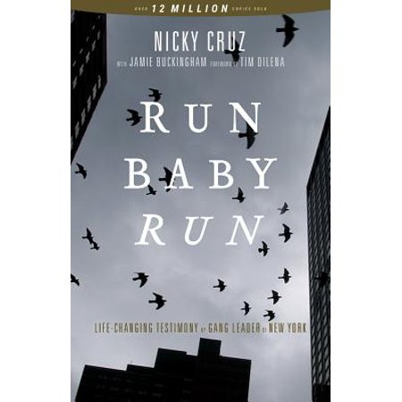 Run Baby Run : The True Story of a New York Ganster Finding Christ - The Color Run Store