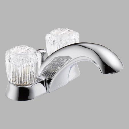 Delta Classic 2522LF Double Handle Centerset Bathroom Sink