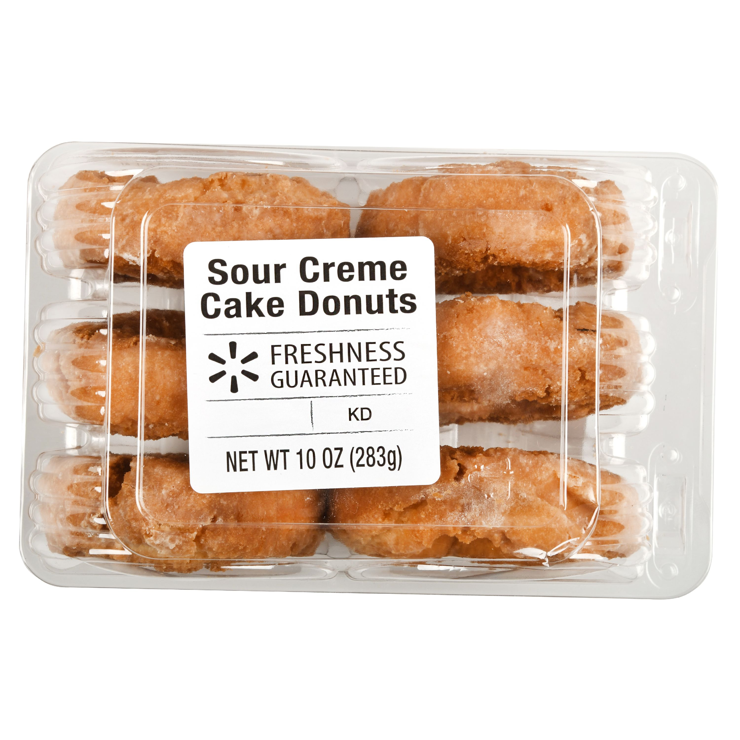 The Bakery Sour Creme Cake Donuts, 6 ct, 10 oz