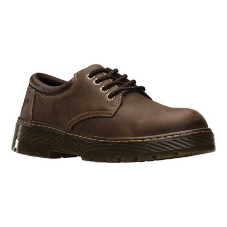 Martens Saxon 6 Eye - Men's Dr. Martens Work Bolt 4 Eye Steel Toe Industrial Shoe