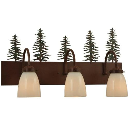"Meyda Tiffany 135960 23.5"" W Tall Pines 3 Light Vanity Light by Meyda Tiffany"