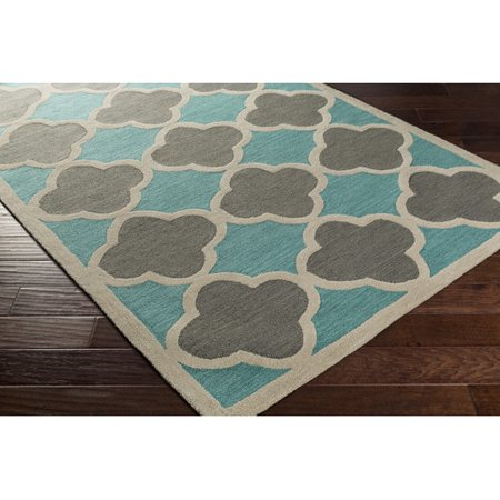 Red Barrel Studio Corson Tealgray Area Rug Walmartcom