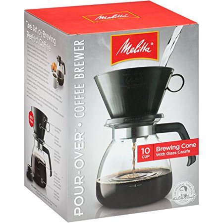 Cone Filter Coffeemaker 10 Cup, 1-Count, Ship from USA,Brand Melitta