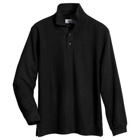 Tri Mountain Mens Easy Care Pique Knit Polo Shirt
