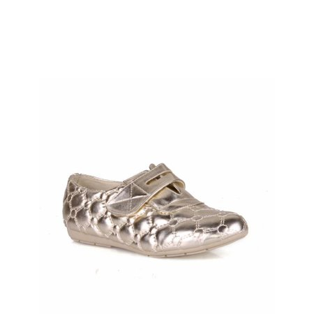 Nature Breeze Quilted Design Women's Sneaker Flats in Gold](Sneakers Flats)