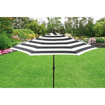 (Better Homes and Gardens 9ft. Aluminum Market Umbrella, Cabana Stripe)