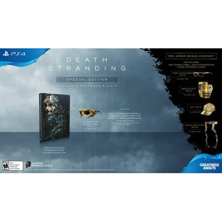 Death Stranding Special Edition, Sony, PlayStation 4, 711719532798