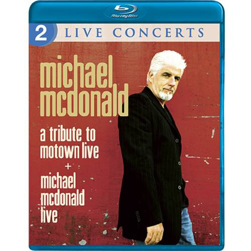 Michael McDonald: 2 Live Concerts - A Tribute To Motown Live / Michael McDonald Live (Widescreen)