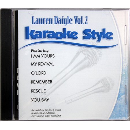 Lauren Daigle Volume 2 Karaoke Style NEW CD+G Daywind 6