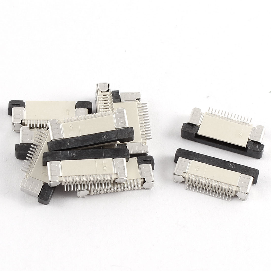10 Pcs Bottom Port 14Pin 0.5mm Pitch FFC FPC Ribbon Sockets Connector - image 1 of 1