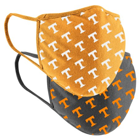 Tennessee Volunteers Colosseum Adult Logo Face Covering 2-Pack Tennessee Volunteers Forest Face