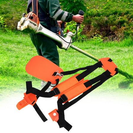 Ccdes Trimmer Shoulder Strap Double Shoulder Harness Brush Cutter Lawn Mower Nylon Belt for Garden , Double Shoulder Harness, Strimmer Harness - image 5 of 8