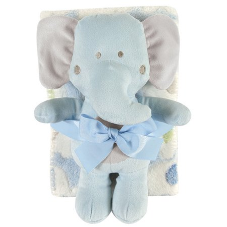 Stephan Baby Blanket And Elephant Toy Set Walmart Com