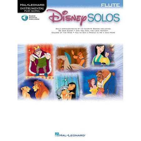 Solo Flute Pieces - Disney Solos for Flute : Play Along with a Full Symphony Orchestra!