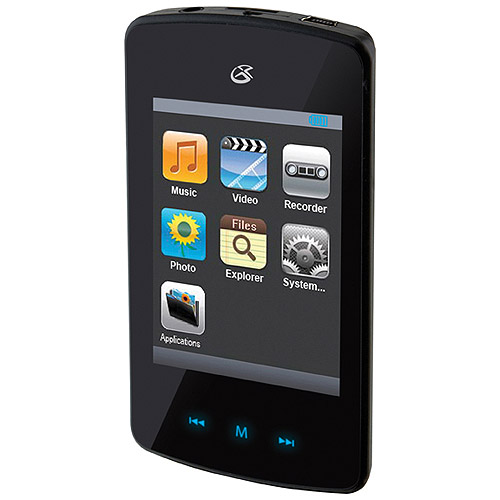 DPI 4GB Digital Audio Play with Touchscreen Display