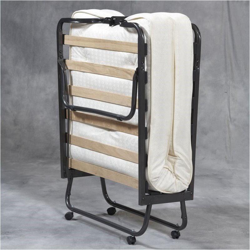 Pemberly Row Folding Bed With Memory Foam Mattress