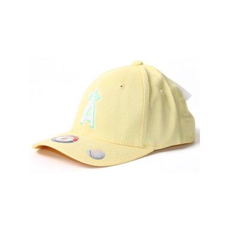 Light Yellow Youth Size Flex Fit Hat - Anaheim Angels - image 1 de 2