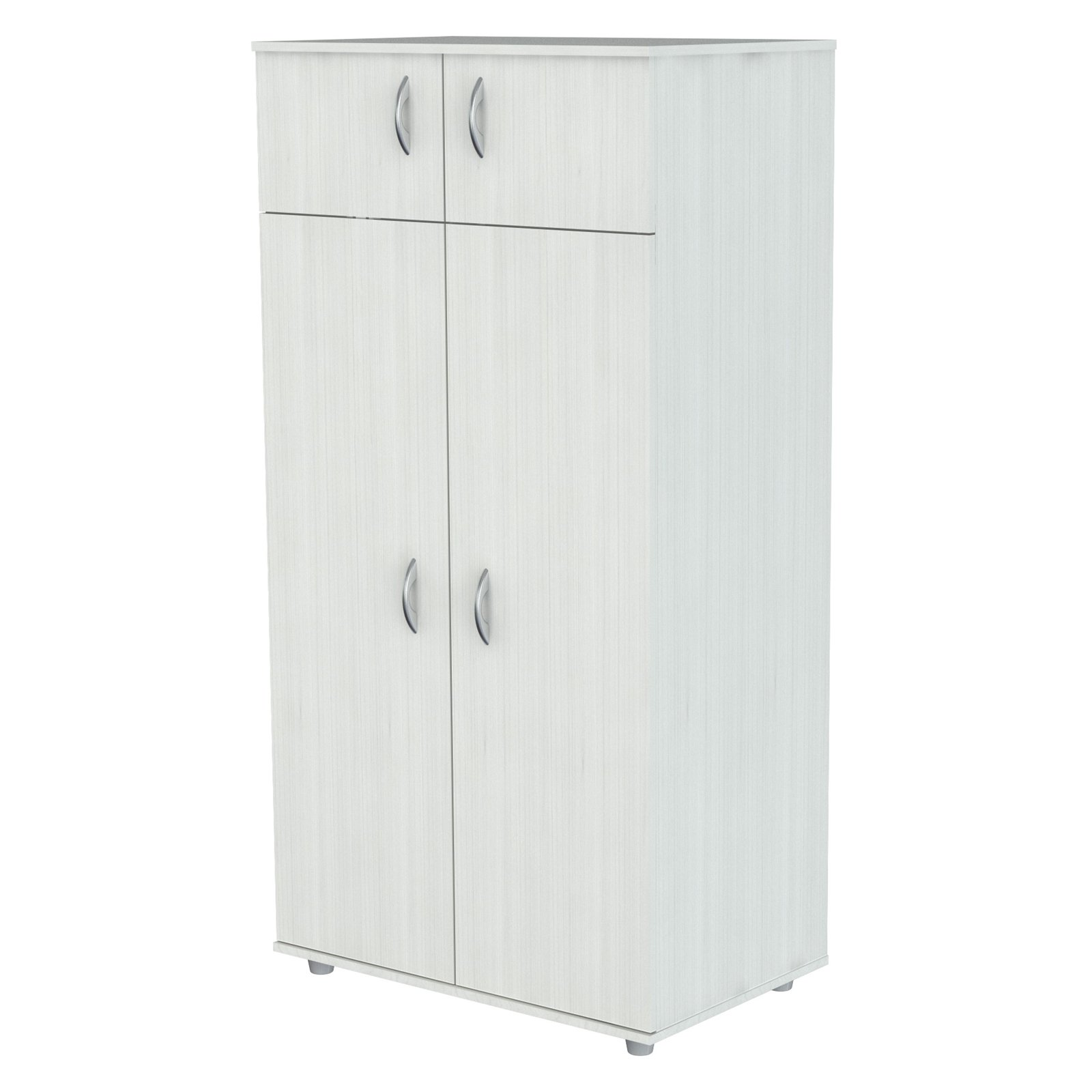 Inval Four-Door Wardrobe Armoire, Larcinia-White by Inval
