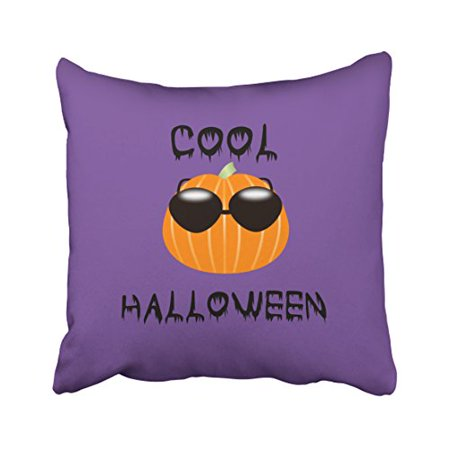 WinHome Decorative Pillowcases Cool Halloween Throw Pillow Covers Cases Cushion Cover Case Sofa 18x18 Inches Two Side - Cool Halloween Cover Photos