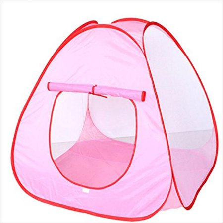 Bsi   Summer Fun   Mini Indoor   Outdoor Play Tent 80Cm X 80Cm X 80Cm For Babies  Instant Set Up With Carry On Bag    Pink