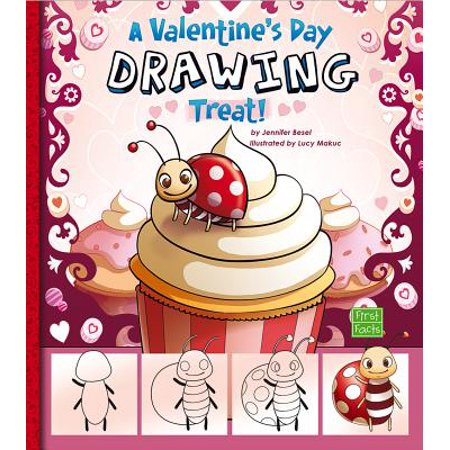 First Facts: Holiday Sketchbook: A Valentine's Day Drawing Treat! (Paperback)
