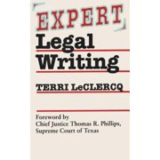 Expert Legal Writing - eBook