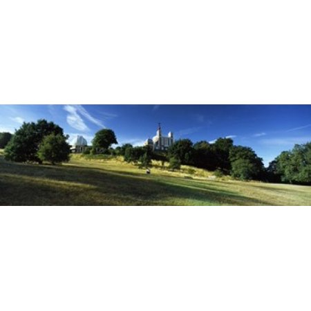 Observatory on a hill Royal Observatory Greenwich Park Greenwich London England Stretched Canvas - Panoramic Images (18 x 6)