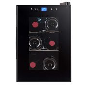 Avanti EWC6C1B 6 Bottle Thermoelectric Wine Cooler - Black