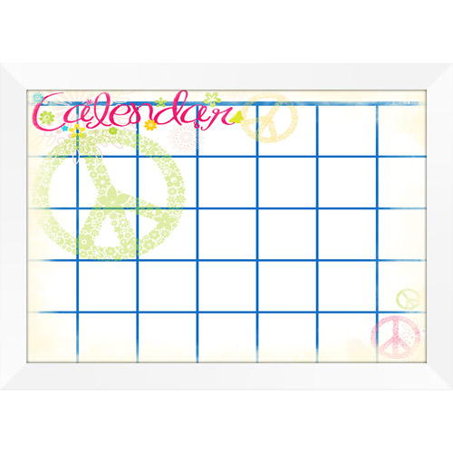 Pro Tour Memorabilia Groovy Monthly Calendar Whiteboard