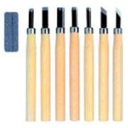 Yasutomo Wood And Linoleum Cutting Set, Steel, Set - 12