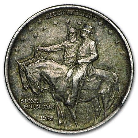 War Commemorative Half Dollars - 1925 Stone Mountain Commemorative Half Dollar Avg Circ