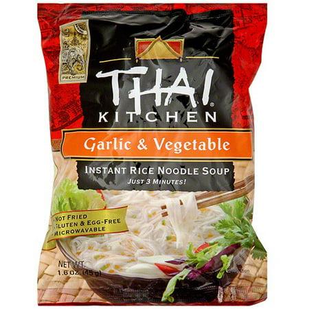 Thai Kitchen Garlic Vegetable Instant Rice Noodle Soup 1 6 Oz Pack Of 12
