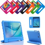 "Galaxy Tab A 8.0 Kids Case, Fits 2015 t350 Kid-Friendly Shockproof Fun Kiddie Tablet Drop Protection Cover with Handle For Samsung Galaxy Tab A 8"" SM-T350 [Blue]"