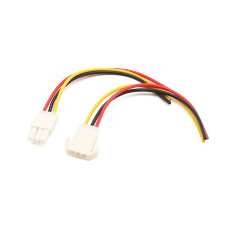 audio car 3 pin radio stereo cd player wiring harness wire adapter  connectors - walmart com
