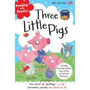 Three Little Pigs (Reading with Phonics) (Hardcover)