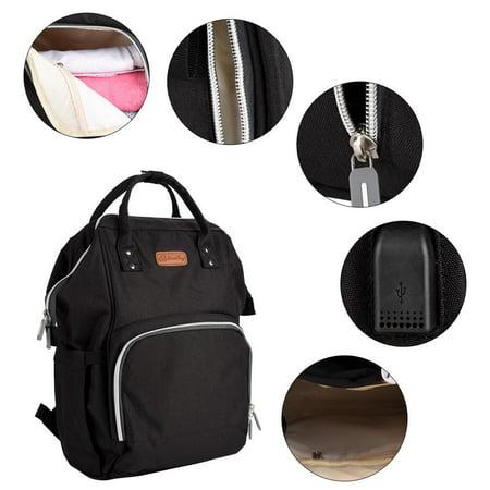 Yosoo Multifunctional Large Mummy Backpack with USB