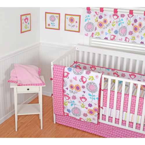 Sumersault Ink Sketch 9-Piece Nursery in a Bag Crib Bedding Set with BONUS Bumper