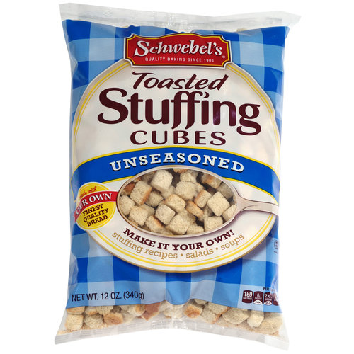 Schwebel's Unseasoned Toasted Stuffing Cubes, 12 oz