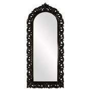 Elizabeth Austin Orleans Arched Mirror - Glossy Black - 30W x 72H in.