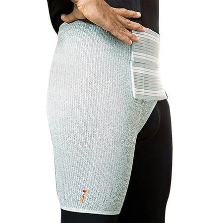 Incrediwear Hip Brace - Accelerates Recovery & Relieve Pain - Right Side (Pain In Side Of Thigh And Hip)