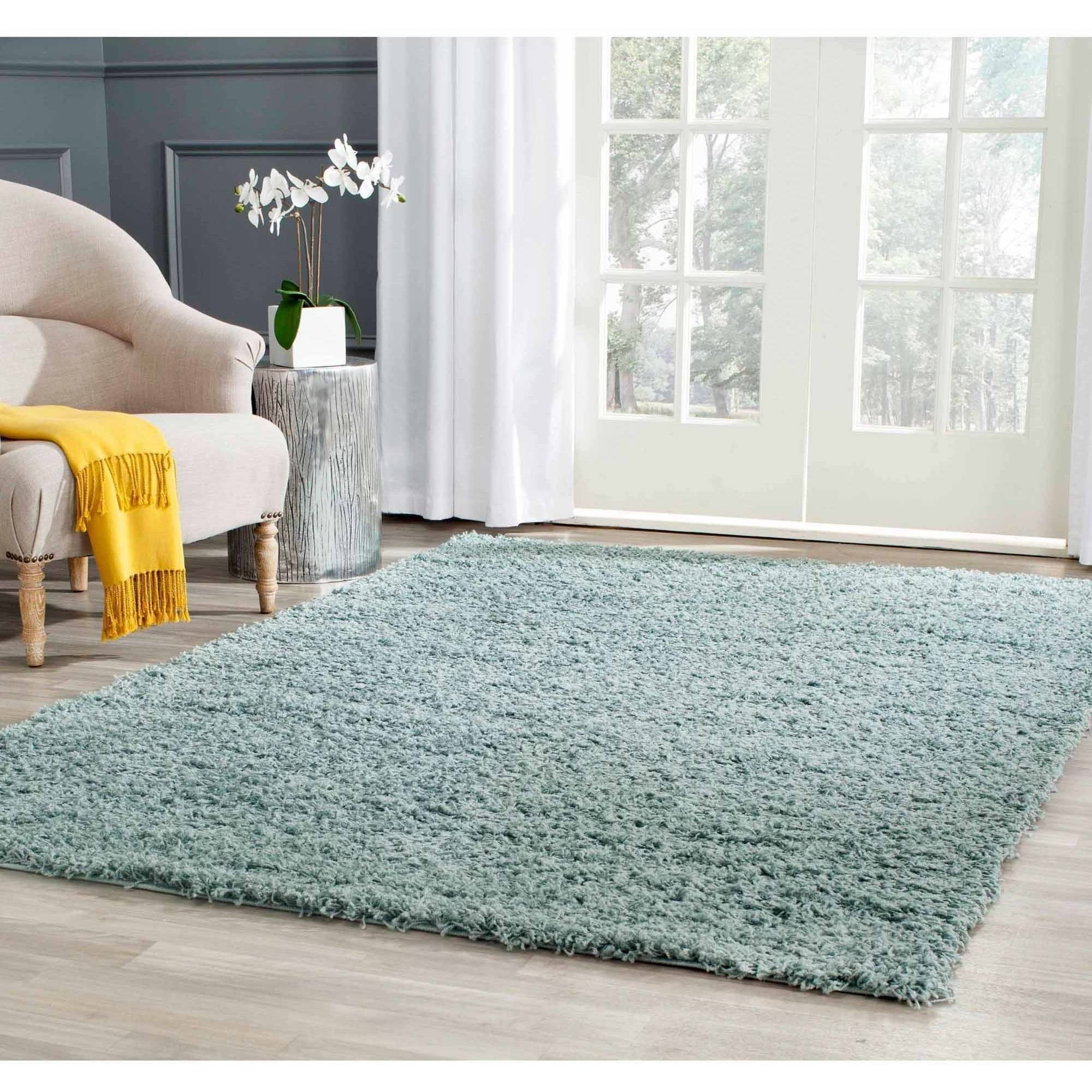 Safavieh Athens Power-Loomed Shag Area Rug Available In Multiple Colors And Sizes