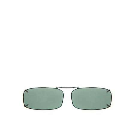 99591d9c69e Solar Shield - PolarTX ClipOn Rec 8 52 Sunglasses - Walmart.com