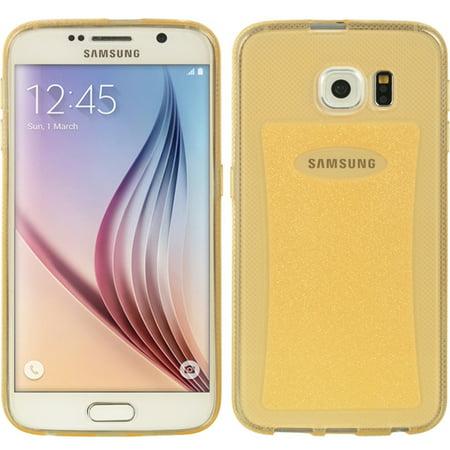 Crystal Skin Cover - Samsung Galaxy S6 Case, by Insten Ultra Slim Crystal Skin TPU Rubber Skin Gel Case Cover For Samsung Galaxy S6