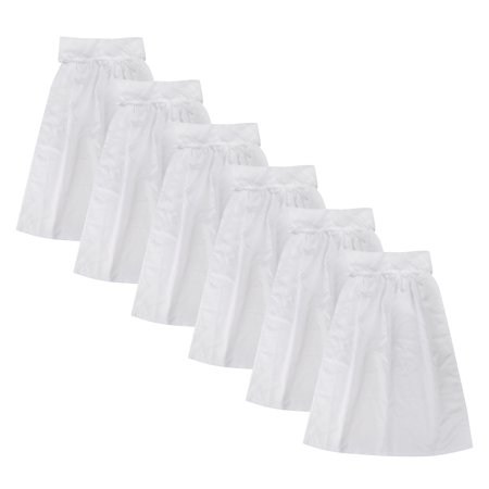 Aspire 6 Pcs Maid Waist Apron Cosplay Outfit White Half Dress Role Play Costumes for Women](German Maid Outfit)